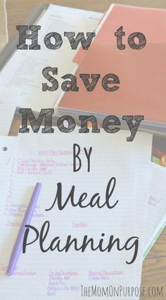 One of the biggest money savers for food is meal planning. This 7 step process…
