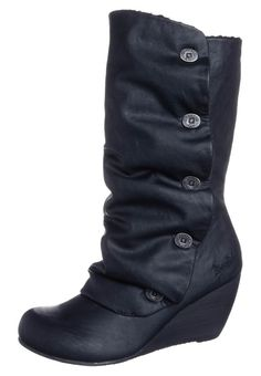 Blowfish - BENEVIEW - Keilstiefel - black relax