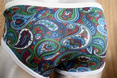 MENS VINTAGE NYLON PAISLEY BRIEFS UNDERPANTS FROM THE 1970s RETRO LOOK | eBay