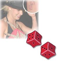 Britney Spears - Dice Tattoo