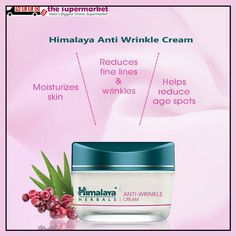 Buy Now Facial  Anti #Wrinkle Cream online shopping on +Needs The Supermarket  Rs.130 Pack get now at #needsPrice 117.00 Save Rs.13 .  #Himalaya Anti Wrinkle Cream visit here or Product : http://www.needsthesupermarket.com/face-cream/3785-himalaya-anti-wrinkle-cream.html