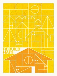 Flyer Goodness: The Haiti Poster Project - Screenprints, Posters, and Graphic Designs from artists around the world