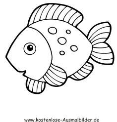 ausmalbilder fische gratis – Ausmalbilder für kinder
