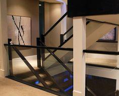 custom glass banister - Google Search