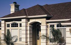 Asphalt Roofing By Certainteed Presidential Shake Design In The Dark Brown Color