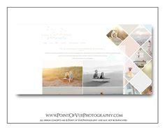 Kelly St-Pierre Photography - Custom Prophoto Blog Website Blogsite Design - Watercolor - Coastal www.pointofvuedesign.com