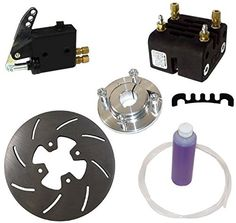 Exclusive design allows it to be adjusted for use with other rotor thicknesses to. Brake Rotors, Brake Calipers, Go Kart Parts, Brake System, Karting, Performance Parts, Kit, Cart