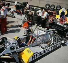 Renault turbo f1.