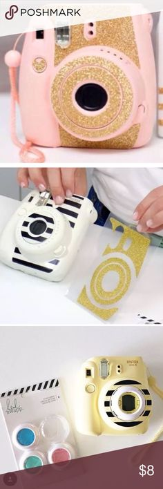 Adoro estas pegatinas para tu Fujifilm Instax Mini 8