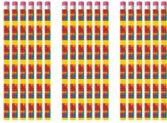 12 Lego Bricks Eraser pencils,.party bag toys,loot bag fillers,favours,rewards