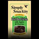 Simply Snackin Beef with Apples and Cherries! All natural products!