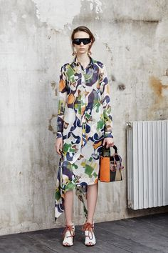 See the MSGM pre-spring/summer 2016 collection. Click through for full gallery
