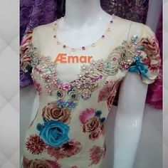 Embroidery Works, Couture, Cotton Dresses, Peplum, Backgrounds, Fashion, House Dress, Gowns, Chic Dress