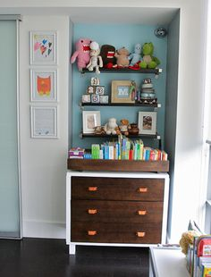Modern Transitional Toddler Room For Boys | Chic & Cheap Nursery™