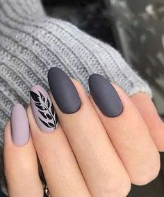 Cute Grey Nail Art Designs to Look Pretty on Parties Cute Grey Nail Art Designs to Look Pretty on Parties More from my site Lovely Grey and Golden Strip Nail Art Designs Cute pink bows with grey and pink nails Slate grey nail art design Grey Nail Art, Matte Nail Art, Acrylic Nails, Dark Grey Nails, Grey Art, Matte Gray Nails, Matte Almond Nails, Black And Purple Nails, Pink Nail