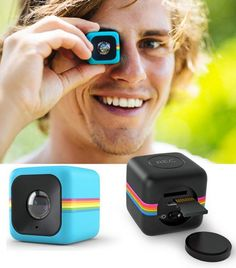 Polaroid Cube Plus is the only action camera with image stabilization.
