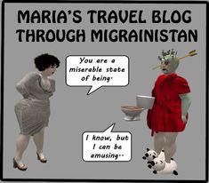 The Sanity Patrol Migraine, Fairy, Humor, Blog, Fun, Movies, Movie Posters, Travel, Viajes