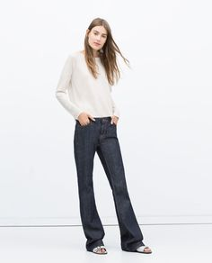 Image 1 of SIDE SLIT SWEATER from Zara
