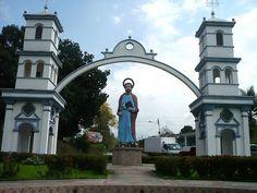 Entrada Principal a la Población de Umuquena, Municipio san Judas Tadeo del Edo Táchira