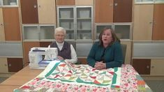 Get tips for machine quilting on your home sewing machine from Mabeth Oxenreider.