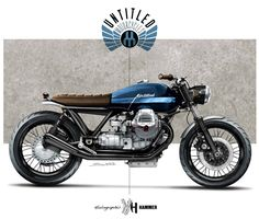 Cafè Racer Concepts - Moto Guzzi by Holographic Hammer