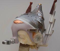 Caschetto/maschera di Pinocchio steampunk