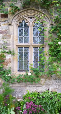 National Trust - Nymans West Sussex - Beautiful Window