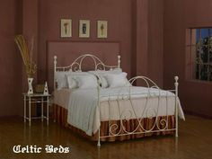 The Wrought Iron Bed Company - Celtic Beds - Mulberry
