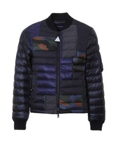 Moncler Men'S Blue Polyamide Down Jacket'