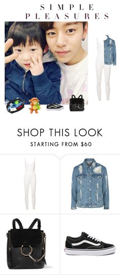 """Babysitting // d a e h y u n"" by natsku100400 ❤ liked on Polyvore featuring Puma, Topshop, Chloé, Vans and Ju Ju Be"