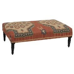 for downstairs  @Overstock - This Sofia coffee table features a wool and jute upholstered top in an abstract design. The coffee table can also be used as a decorative bench or accent furniture.  http://www.overstock.com/Home-Garden/Sofia-Coffee-Table/6719606/product.html?CID=214117 $460.79