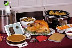 WSJ: Kitchen Gadgets to Improve Your Holiday Cooking Can Tech Help You Cook Better and Watch Your Weight? Tools Measure Every Temperature, Ingredient and Calorie #thanksgiving