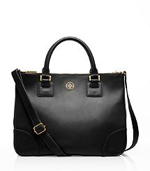 Robinson Double Zip Tote @Tory Burch. If I get in to the Tory Burch Foundation class, i will buy myself this to celebrate! Here's hoping....