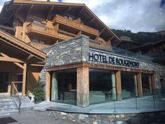 Hotel de Rougemont - Swiss Alpine Boutique Hotel & SPA | A member of Design Hotels Beaux Villages, Switzerland, Spa, Cabin, Boutique, House Styles, Design, Home Decor, Decoration Home