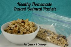 Healthy Homemade Instant Oatmeal Pancakes | Feel Great in 8
