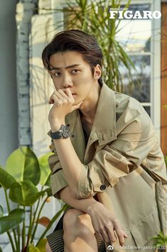 Oh Sehun 세훈 Exo for Madame Figaro