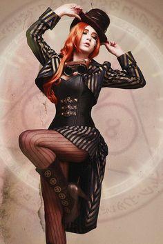 Steampunk/Gothic Ladies | Beauty | Fashion | Costume