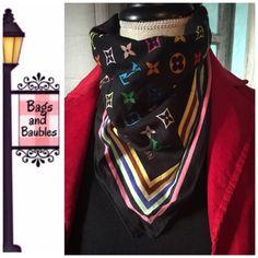 Arriving Soon: LOUIS VUITTON Multicolore Bandana Details Pending. Louis Vuitton Accessories Scarves & Wraps