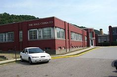 The Hall China Company East Liverpool Ohio still producing china today. East Liverpool Ohio, Hall Pottery, China Today, Ohio River, Business Journal, West Virginia, Cleveland, Mansions, Fiestas