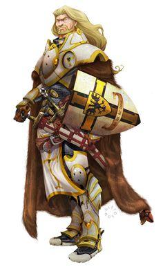 Ivanuir Belarn (guerreiro/paladino): Sábio em suas decisões, preciso e forte em suas convicções, teve seu título de paladino de Lathander dado em 1356 CV, aos 21 anos, e partiu para batalhar pelas Terras dos Vales contra Lashan do Vale da Cicatriz. Retornou para se tornar um defensor da Ordem de Áster no Vale da Adaga. Lutou em 1369 CV, quando o povo do Vale se uniu a Randal Morn para expulsar os Zhents. ~ Arte de gureiduson
