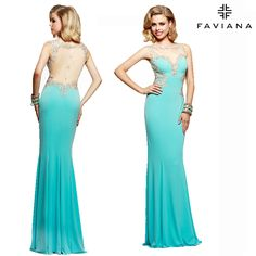 Like a butterfly without the wings! http://www.faviana.com/catalog/dress-s7534