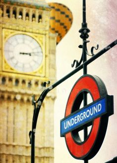 Get on the Underground and it takes you anywhere you want to go.