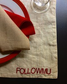 MarinaC - personalized placemat for one of our favorite food bloggers @followmu