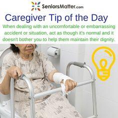 Caregiver Tip Of The Day! #seniorsmatter #wecareforcaregiver #tipsforyou