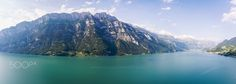 """Walensee, Switzerland from above - Aerial shot of Walensee, Switzerland.  Image available for licensing.  Order prints of my images online, shipping worldwide via  <a href=""""http://www.pixopolitan.net/photographers/oberschneider-christoph-a6030.html"""">Pixopolitan</a> See more of my work here:  <a href=""""http://www.oberschneider.com"""">www.oberschneider.com</a>  Facebook: <a href=""""http://www.facebook.com/Christoph.Oberschneider.Photography"""">Christoph Oberschneider Photography</a> follow me on <a…"""