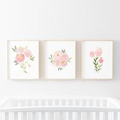 nursery wall decor for baby boy Nursery Wall Decor, Nursery Prints, Boho Nursery, Girl Nursery Art, Nursery Ideas, Nursery Bookshelf, Blush Nursery, Playroom Art, Nursery Rugs