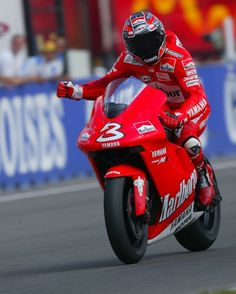 Max Biaggi, first MotoGP winner in Brno, 2002