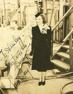 Janet Gaynor Autograph