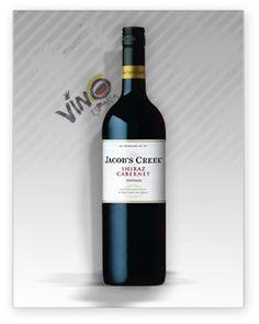 Jacobs Creek es un vino blanco procedente de Australia, elaborado con las varietales Chardonnay y Pinot Noir.