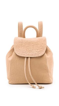 The new work bag! Swap out your tote for a gorgeous leather backpack.